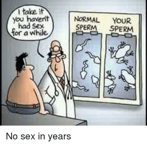 No sex for years